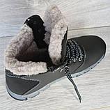 Мужские ботинки на меху зимние (КЛА-20чср), фото 2