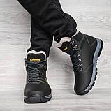Мужские ботинки на меху зимние (КЛА-20чср), фото 3