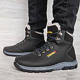 Мужские ботинки на меху зимние (КЛА-20чср), фото 4