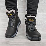 Мужские ботинки на меху зимние (КЛА-20чср), фото 5