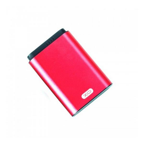 Додатковий акумулятор 8000 mAh XO PB54 Li-ion Red