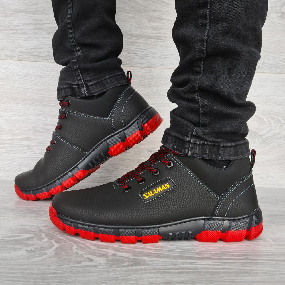 Яркие мужские ботинки зимние низкие (Клз-4чр)