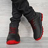 Яркие мужские ботинки зимние низкие (Клз-4чр), фото 2