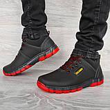 Яркие мужские ботинки зимние низкие (Клз-4чр), фото 3