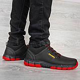 Яркие мужские ботинки зимние низкие (Клз-4чр), фото 4