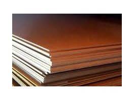 Текстолит листовой марки А, толщина 1,0мм. ГОСТ 2910-74 (Россия)