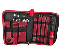 Профессиональный набор инструментов для снятия обшивки (облицовки) авто 13шт. (СО-13-3ч), фото 1