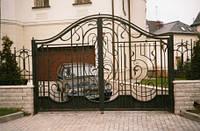 Кованые ворота в загородный дом Херсон