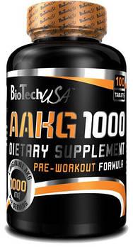 Предтренировочник BioTech AAKG 1000 (100 tabs)