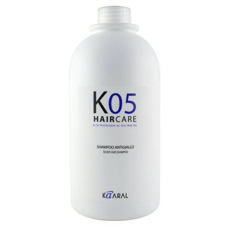 SILVER HAIR SHAMPOO Серебристый шампунь с антижелтым эффектом 1000 мл.