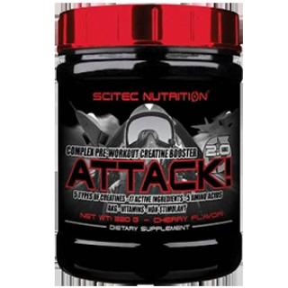 Предтренировочник Scitec Nutrition Attack 2.0 (720 g)