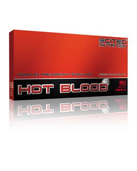Предтренировочник Scitec Nutrition Hot Blood 3.0 (90 caps)