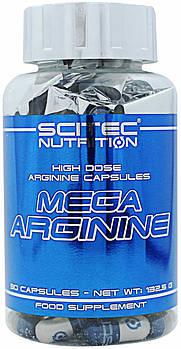Предтренировочник Scitec Nutrition Mega Arginine (90 caps)