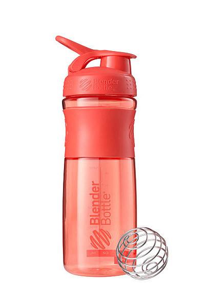 Спортивна пляшка-шейкер BlenderBottle SportMixer 820ml Coral (ORIGINAL)