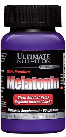 Вітаміни і Мінерали Ultimate Nutrition Melatonin 100% Premium (60 caps)