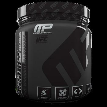 Предтренировочник MusclePharm Assault Black (351g )