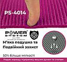 Коврик для йоги и фитнеса Power System  PS-4014 FITNESS-YOGA MAT Pink, фото 3