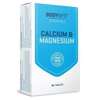 Витамины и Минералы Body & Fit Calcium & Magnesium 30 tabs