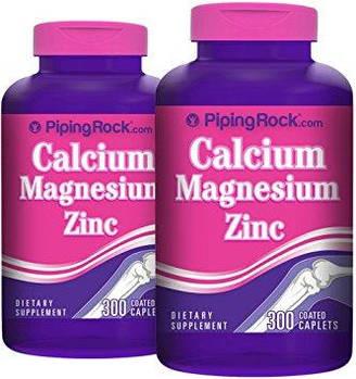 Суставы и сухожилия Piping Rock Calcium Magnesium Zinc(90 cap)