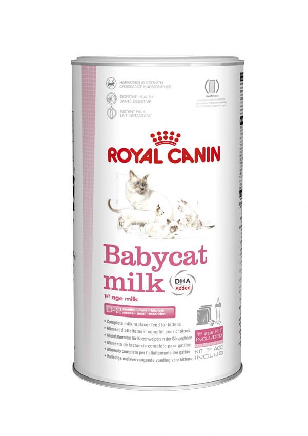 Земенитель  молока для котят Royal Canin Babycat milk (Роял Канин Бебикет милк) 0,3 кг