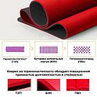 Коврик для йоги и фитнеса POWER SYSTEM YOGA MAT PREMIUM PS-4060 Red, фото 5