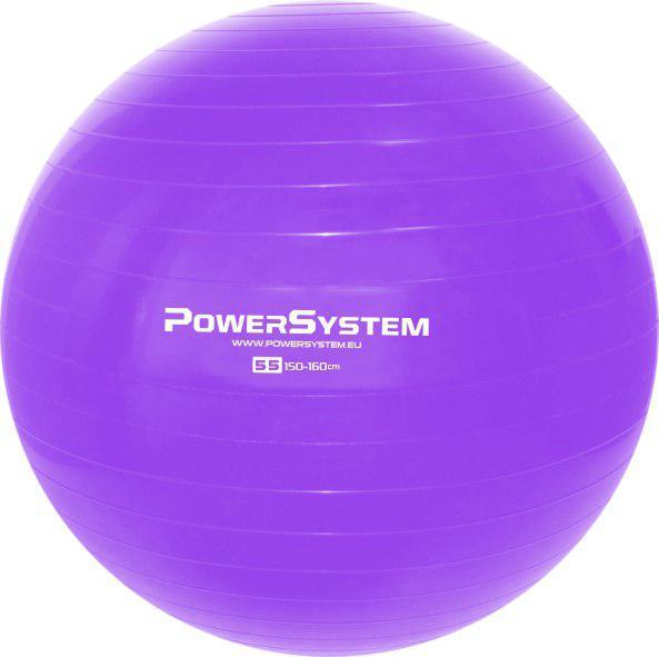 Мяч для фитнеса и гимнастики POWER SYSTEM PS-4011 55 cm Purple