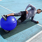 М'яч для фітнесу і гімнастики POWER SYSTEM PS-4013 75 cm Blue, фото 8
