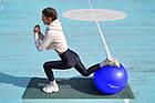 М'яч для фітнесу і гімнастики POWER SYSTEM PS-4013 75 cm Blue, фото 9