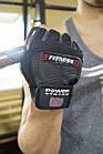 Перчатки для фитнеса и тяжелой атлетики Power System Fitness PS-2300 L Grey/Black, фото 8