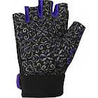 Перчатки для фитнеса и тяжелой атлетики Power System Classy Женские PS-2910 M Black/Purple, фото 2
