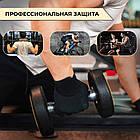 Перчатки для фитнеса и тяжелой атлетики Power System Power Plus PS-2500 XS Black/Grey, фото 7
