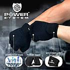 Перчатки для фитнеса и тяжелой атлетики Power System Power Plus PS-2500 XS Black/Grey, фото 10