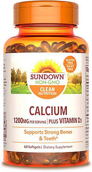 Sundown Naturals Calcium 1200 mg (60 caps)