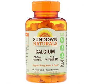 Sundown Naturals Calcium 600 mg (120 caps)