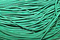 Резинка круглая, шляпная 2.5мм, зеленый