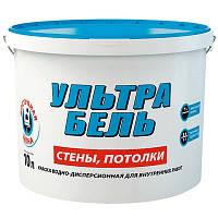 """ТМ """"Sniezka"""" Краска водоэмульсионная (Снежка Ультра Белая) матовая для стен, потолков и обоев."""