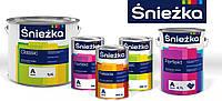 """ТМ """"Sniezka""""- продукты в категории Краски для внутренних и наружных  работ."""