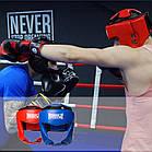 Боксерський шолом турнірний PowerPlay 3049 XL Червоний, фото 9