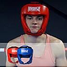 Боксерський шолом турнірний PowerPlay 3049 XL Червоний, фото 10