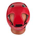 Боксерський шолом турнірний PowerPlay 3084 червоний S, фото 5
