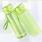 Пляшка для води CASNO 650 мл KXN-1157 Зелена, фото 2