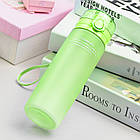 Пляшка для води CASNO 650 мл KXN-1157 Зелена, фото 3