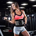 Пояс-корсет для підтримки spini PowerPlay 4305 Чорно-сірий 100*24 см, фото 5