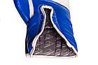 Боксерські рукавиці PowerPlay 3019 Сині 8 унцій, фото 3