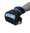 Рукавички для MMA PowerPlay 3055 Чорно-Сині XL, фото 2