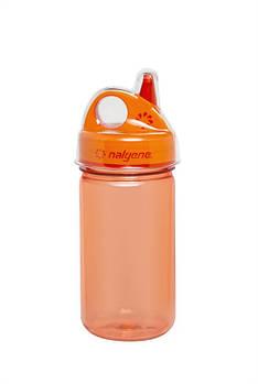 Пляшка для води, дитяча Nalgene Grip-n-Gulp Оранжева 350 мл.