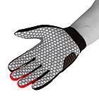 Велорукавички PowerPlay 6662 В Чорно-Червоні M, фото 3