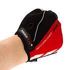 Велорукавички PowerPlay 5024 C Чорно-червоні L, фото 5