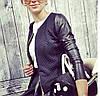 Куртка женская с круглым вырезом P359