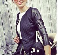 Куртка женская с круглым вырезом P359, фото 1